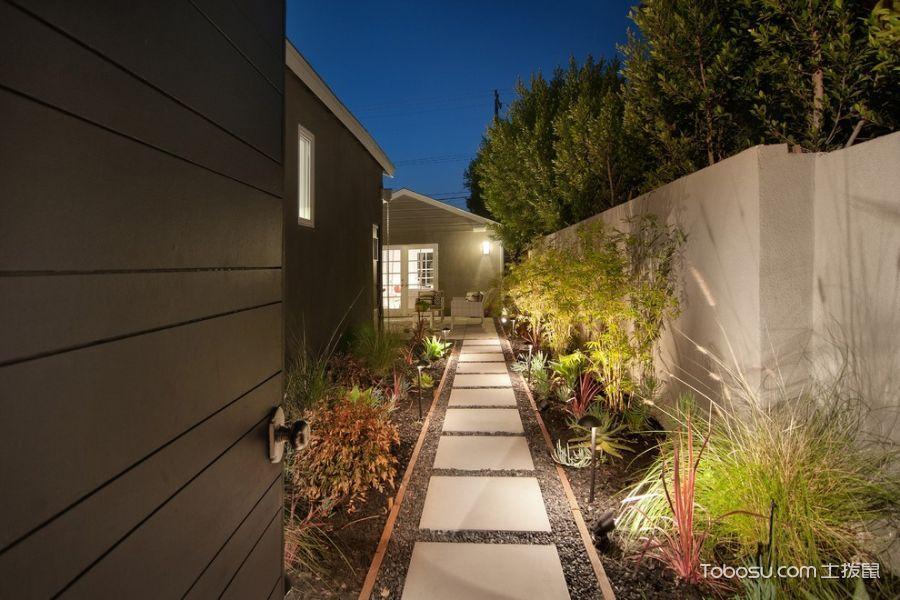 2020現代花園設計圖片 2020現代走廊效果圖