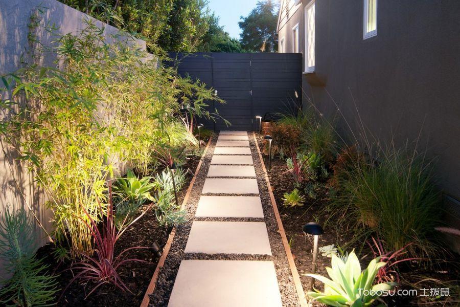 2019现代花园设计图片 2019现代走廊装修效果图大全