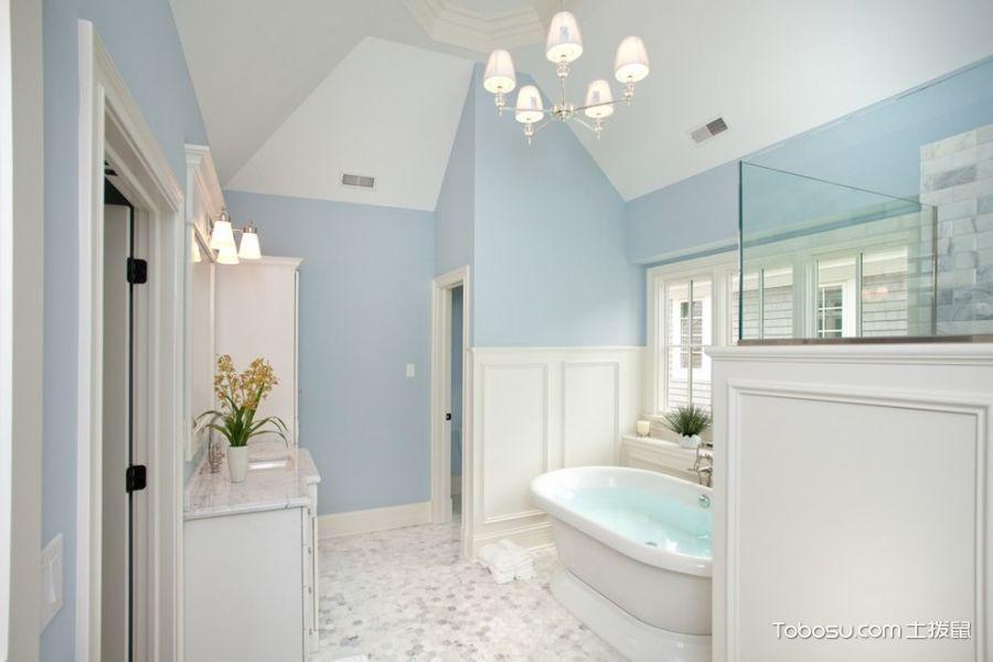 2020美式浴室设计图片 2020美式浴缸装修效果图大全