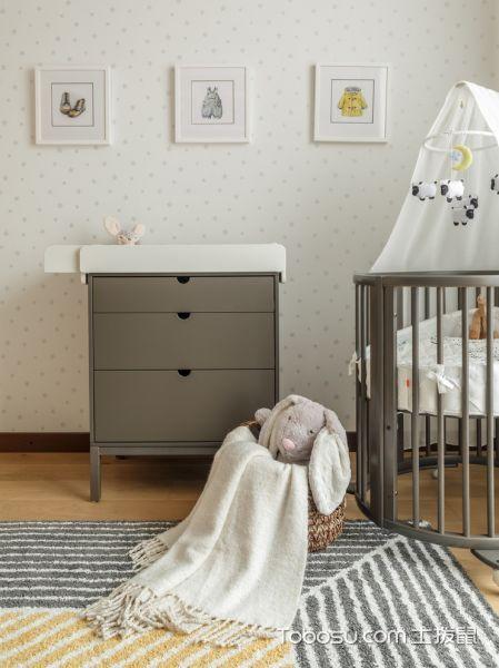 2019北欧儿童房装饰设计 2019北欧背景墙装修图
