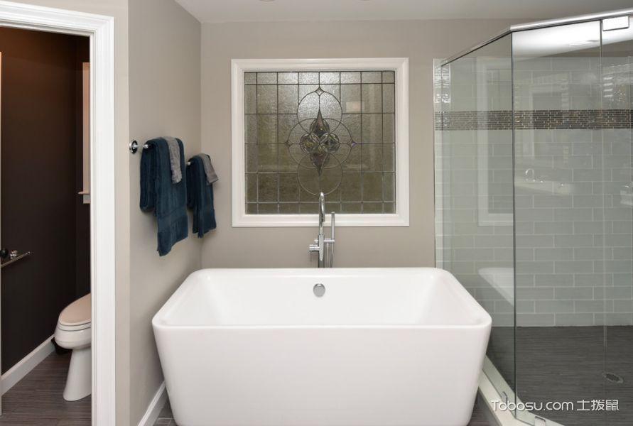 2020现代浴室设计图片 2020现代浴缸装修效果图大全