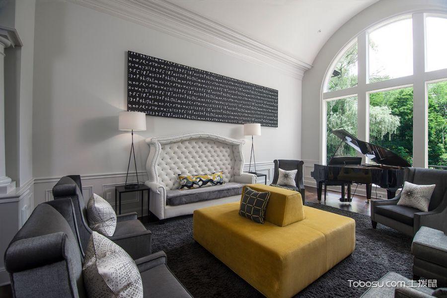 2019现代客厅装修设计 2019现代窗台设计图片