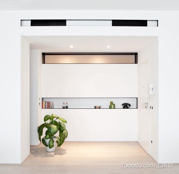 2021现代玄关图片 2021现代隐形门装修图片