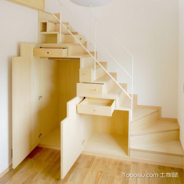 2019日式设计图片 2019日式楼梯装修效果图片
