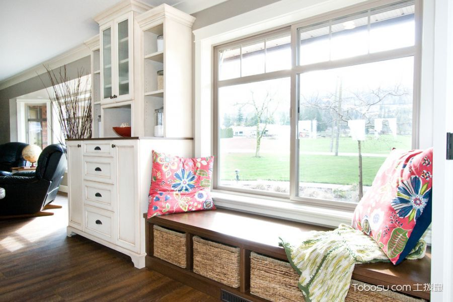 2021美式110平米装修设计 2021美式庭院装修效果图大全