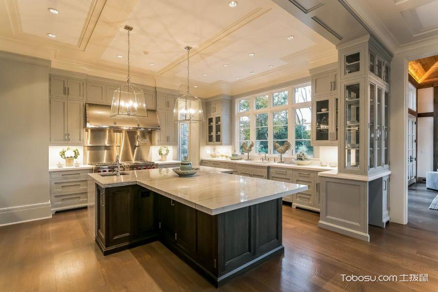 2020美式廚房裝修圖 2020美式設計圖片