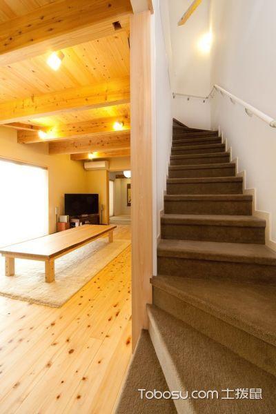 2021日式设计图片 2021日式楼梯装修效果图片