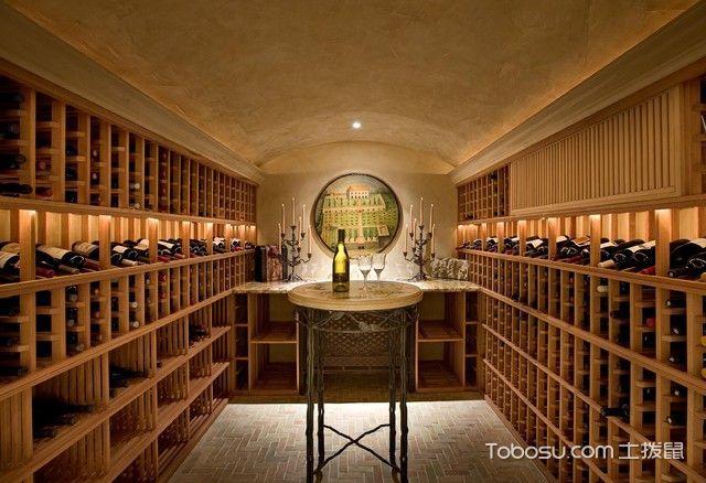 2021地中海设计图片 2021地中海酒窖装饰设计