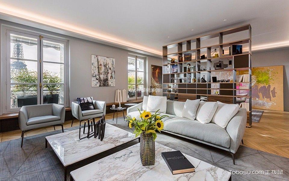 枫情佳苑现代简约风格100平米公寓装修效果图