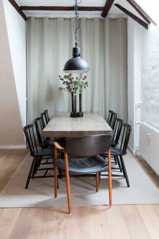餐厅北欧风格效果图大全2017图片_土拨鼠极致迷人餐厅北欧风格装修设计效果图欣赏