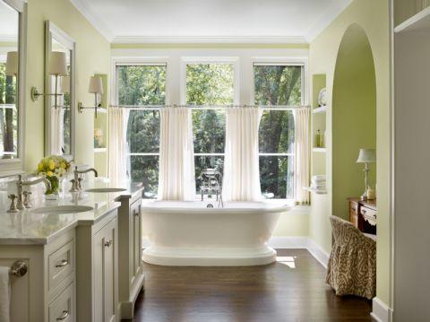 卫生间美式风格效果图大全2017图片_土拨鼠简洁沉稳厨房美式风格装修设计效果图欣赏