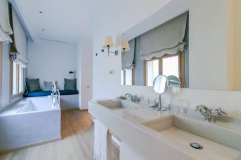 浴室北欧风格效果图大全2017图片_土拨鼠大气风雅客厅北欧风格装修设计效果图欣赏