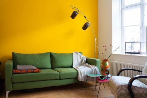 客厅混搭风格效果图大全2017图片_土拨鼠现代优雅客厅混搭风格装修设计效果图欣赏