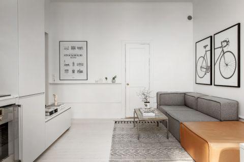 客厅北欧风格效果图大全2017图片_土拨鼠简洁淡雅餐厅北欧风格装修设计效果图欣赏