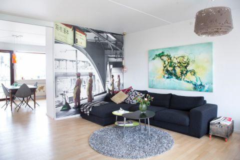 客厅北欧风格效果图大全2017图片_土拨鼠美好迷人卧室北欧风格装修设计效果图欣赏
