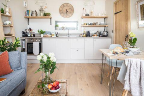 厨房北欧风格效果图大全2017图片_土拨鼠精致淡雅餐厅北欧风格装修设计效果图欣赏