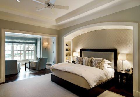 卧室美式风格效果图大全2017图片_土拨鼠大气写意客厅美式风格装修设计效果图欣赏