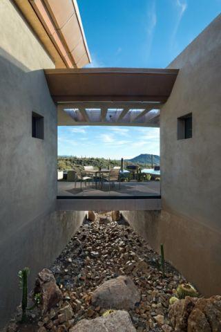 簡潔現代灰色二手房地板磚構造圖