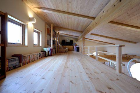 日式臥室二手房地板磚效果圖圖片