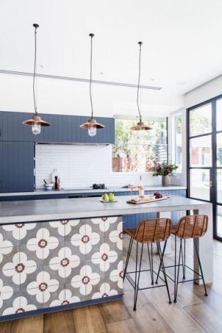 厨房灰色北欧风格装潢设计图片