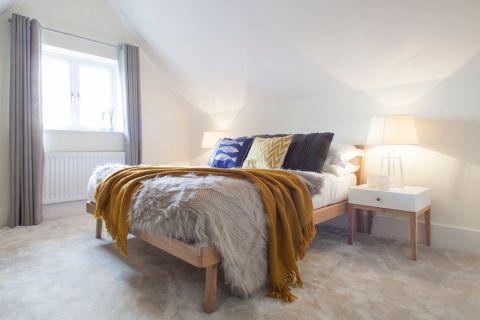 卧室北欧风格效果图大全2017图片_土拨鼠休闲质朴卧室北欧风格装修设计效果图欣赏