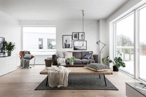 客厅北欧风格效果图大全2017图片_土拨鼠豪华富丽卧室北欧风格装修设计效果图欣赏