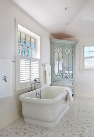 浴室现代风格效果图大全2017图片_土拨鼠古朴时尚浴室现代风格装修设计效果图欣赏