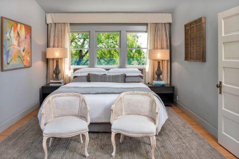 2019美式卧室装修设计图片 2019美式窗台设计图片