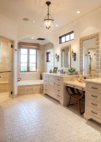 浴室浴室柜装潢图片