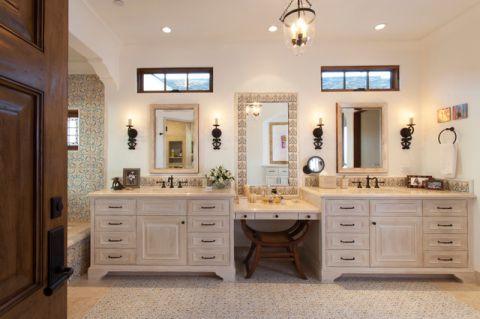 地中海浴室浴室柜装修案例
