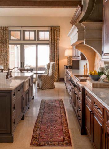 设计精巧厨房地砖装潢图片