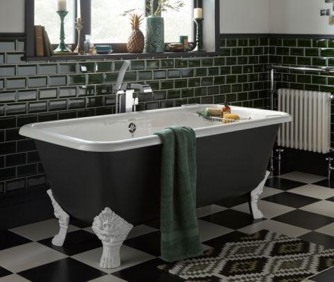 个性浴缸装修案例图片