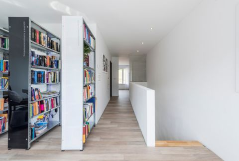 奢华书房现代装潢图片