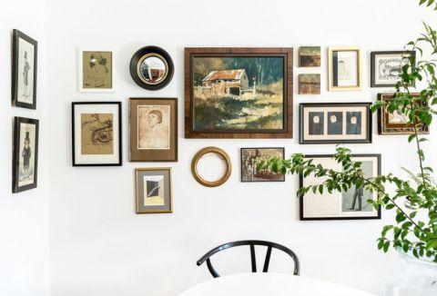 高贵风雅照片墙装修效果图