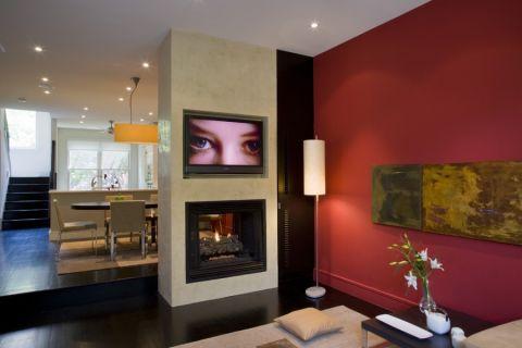 客厅现代设计效果图
