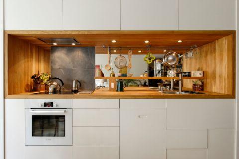 休闲厨房混搭装饰设计