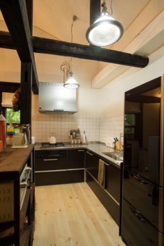 2020日式厨房装修图 2020日式设计图片