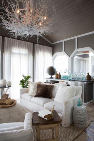 2020现代客厅装修设计 2020现代设计图片
