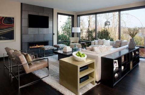 2021现代110平米装修设计 2021现代别墅装饰设计