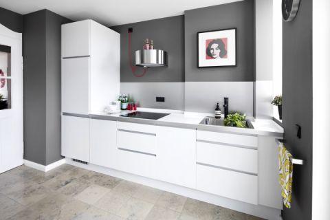 厨房白色细节北欧风格装潢设计图片