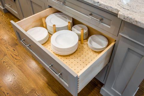 厨房灰色细节美式风格装修图片