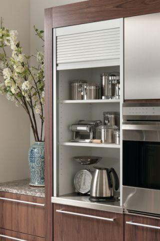 厨房咖啡色细节现代风格装修设计图片