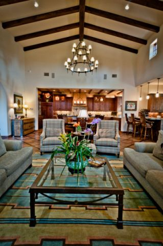 客厅米色细节地中海风格装修效果图