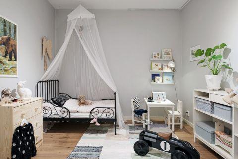 儿童房北欧风格效果图大全2017图片_土拨鼠美感格调儿童房北欧风格装修设计效果图欣赏