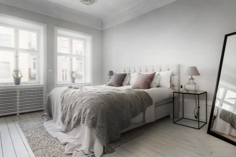 卧室北欧风格效果图大全2017图片_土拨鼠温暖质朴卧室北欧风格装修设计效果图欣赏