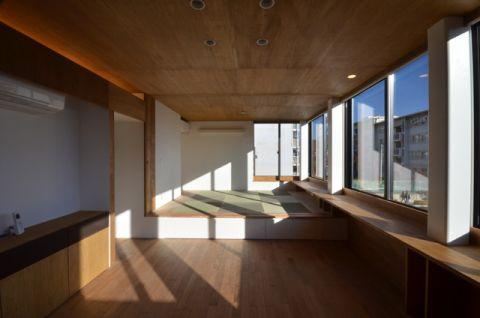 客厅日式风格效果图大全2017图片_土拨鼠个性质感客厅日式风格装修设计效果图欣赏
