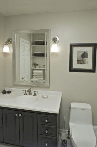 浴室美式风格效果图大全2017图片_土拨鼠优雅摩登浴室美式风格装修设计效果图欣赏