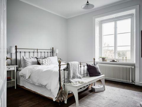 卧室北欧风格效果图大全2017图片_土拨鼠大气雅致卧室北欧风格装修设计效果图欣赏