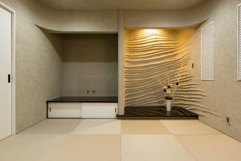 客厅日式风格效果图大全2017图片_土拨鼠古朴自然客厅日式风格装修设计效果图欣赏