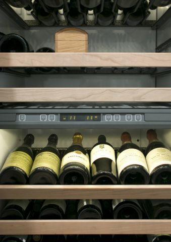 美式酒窖细节酒柜平面图